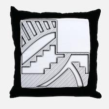Corner Ornament 4 Throw Pillow