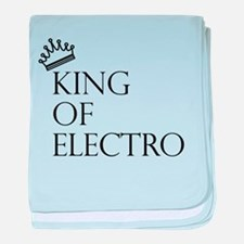 King of Electro baby blanket