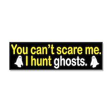 I Hunt Ghosts Car Magnet 10 x 3
