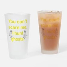 I Hunt Ghosts Drinking Glass