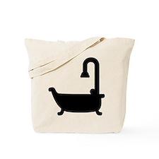 Bath tub shower Tote Bag