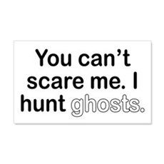 I Hunt Ghosts Wall Decal