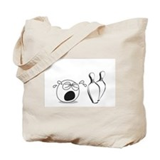 No Crying in Bowling Tote Bag