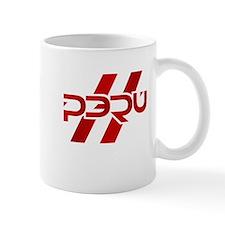 Peru Flag Small Mug