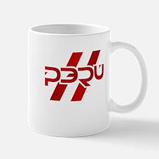 Peru Flag Small Small Mug