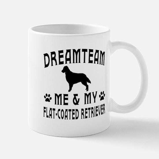Flat-Coated Retriever Dog Designs Mug
