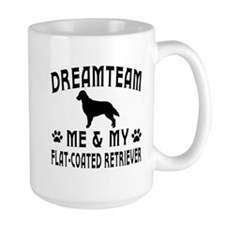 Flat-Coated Retriever Dog Designs Mug