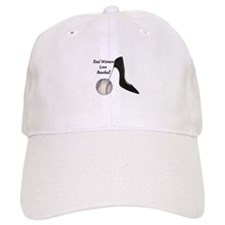Real Women Love Baseball Baseball Baseball Cap