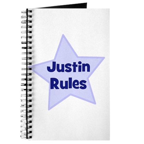 Justin Rules Journal