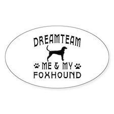Foxhound Dog Designs Decal