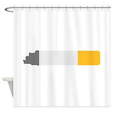 Cigarette smoking Shower Curtain