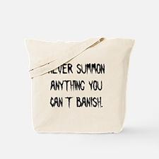 summon_banishb.png Tote Bag