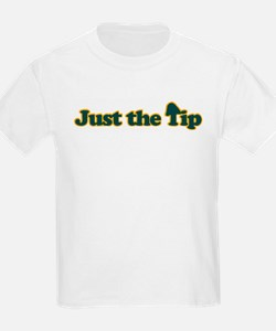 Just The Tip Kids T-Shirt