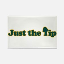 Just The Tip Rectangle Magnet
