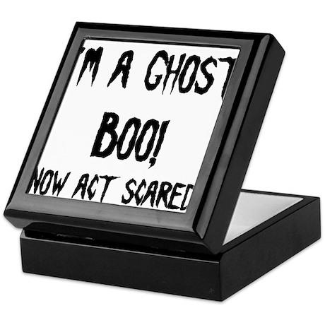 I'm a ghost Keepsake Box