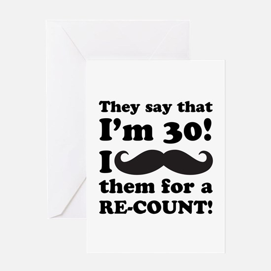 Funny 30Th Birthday Greeting Cards Thank You Cards and Custom – Funny 30th Birthday Greetings