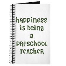 Happiness is being a PRESCHOO Journal