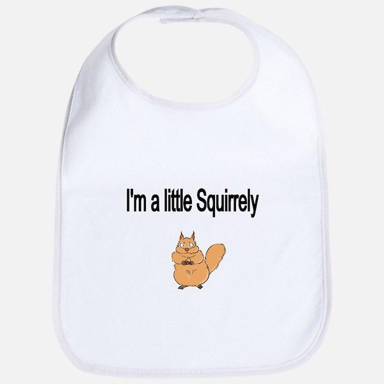 Im a little Squirrely Bib
