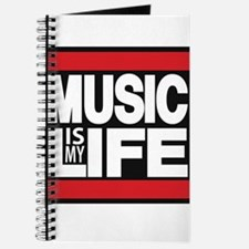 music is my life red Journal