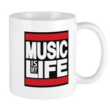 music is my life red Mug