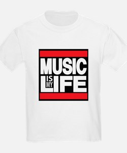 music is my life red T-Shirt