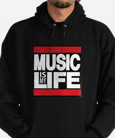 music is my life red Hoody