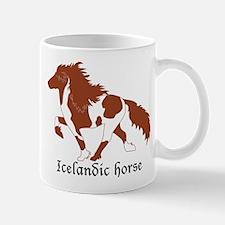 Chestnut Pinto Icelandic Horse Mug