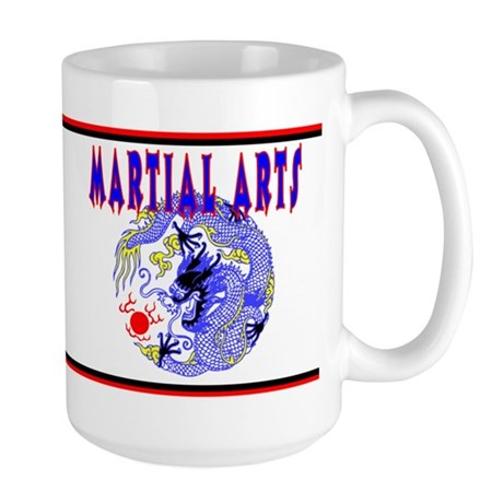 Martial Arts Dragon Large Mug