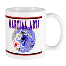 Martial Arts Dragon Mug