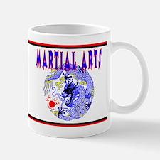 Martial Arts Dragon Mug