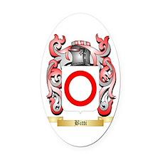 Bitti Oval Car Magnet