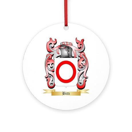 Bitti Ornament (Round)