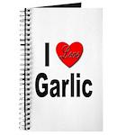 I Love Garlic Journal