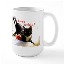 Happy Birthday Kitty Mug