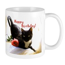 Happy Birthday Kitty Mug