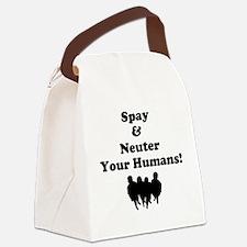Spay Neuter Canvas Lunch Bag