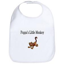 Poppas Little Monkey Bib