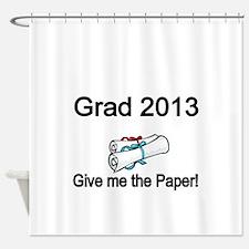 Grad 2013 Shower Curtain