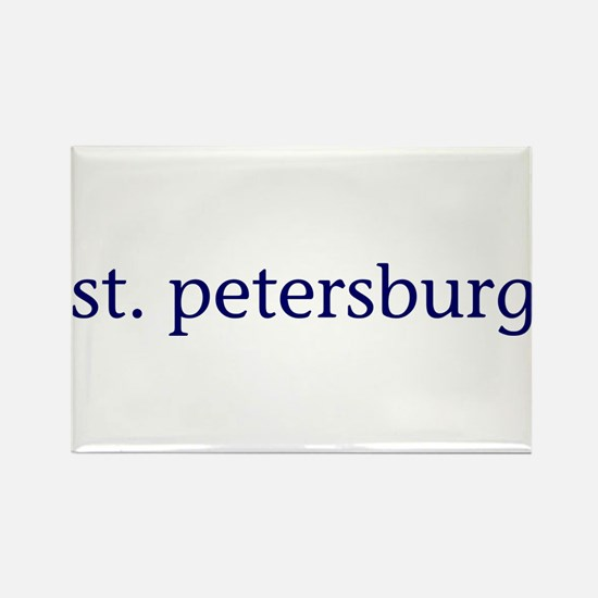 St. Petersburg Rectangle Magnet