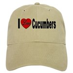 I Love Cucumbers Cap