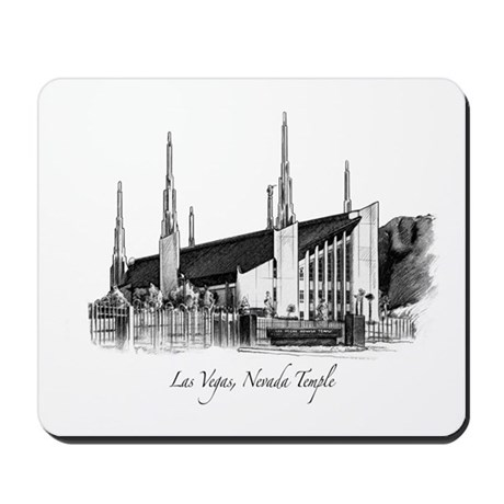 Las Vegas, Nevada Temple Mousepad