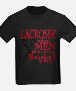 Men Play Lacrosse T-Shirt