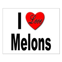 I Love Melons Posters