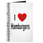 I Love Hamburgers Journal