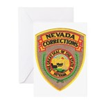 Nevada Corrections Greeting Cards (Pk of 10)