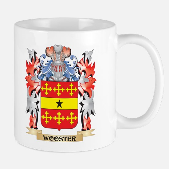 Wooster Coat of Arms - Family Crest Mugs