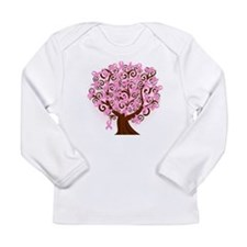 The Tree of Life...Breast Cancer Long Sleeve T-Shi