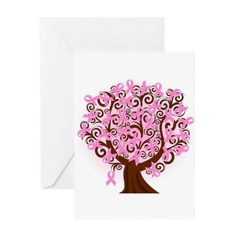 The Tree of Life...Breast Cancer Greeting Card