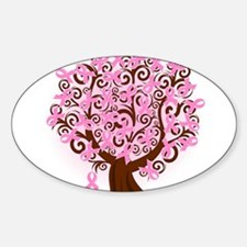 The Tree of Life...Breast Cancer Decal