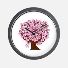 The Tree of Life...Breast Cancer Wall Clock